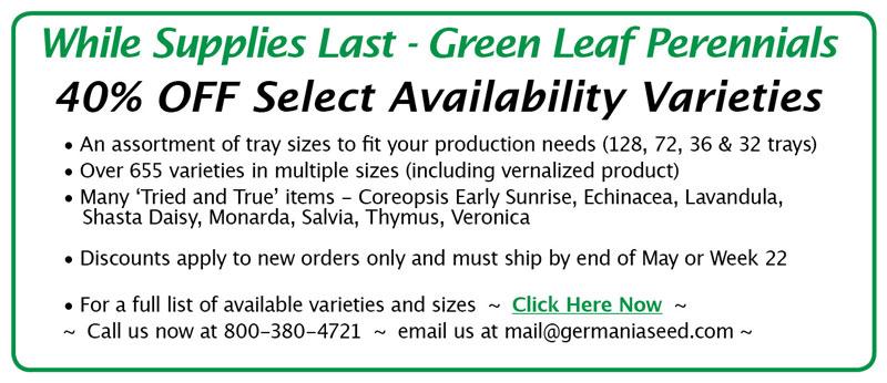 sale on availability